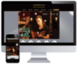 עיצוב אתר לחברת הפקות מוזיקליות
