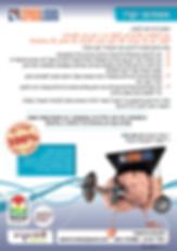 עיצוב פלייר לחברת ISPEEDLEARN
