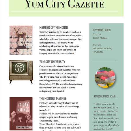 Yum City Gazette - May 2021