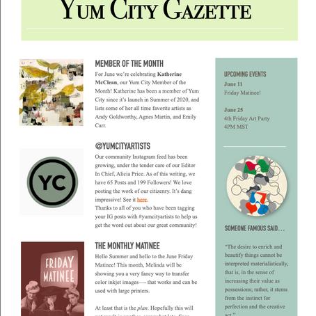 Yum City Gazette - June 2021
