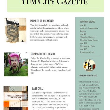 Yum City Gazette - April 2021