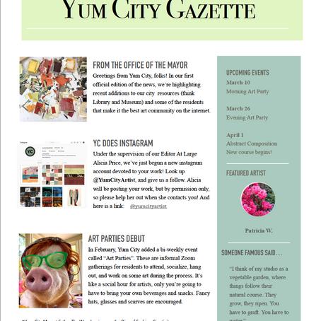 Yum City Gazette - March 2021