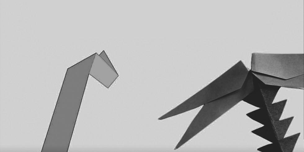 Telón de origami