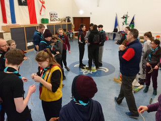 Scouts & Ventures - Pioneering & Backwoods Weekend