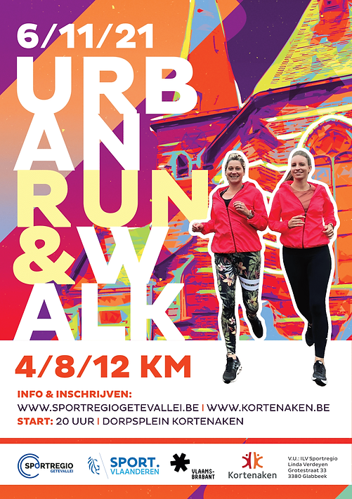 affiche Urban Run & Walk 2021 Kortenaken-1.png