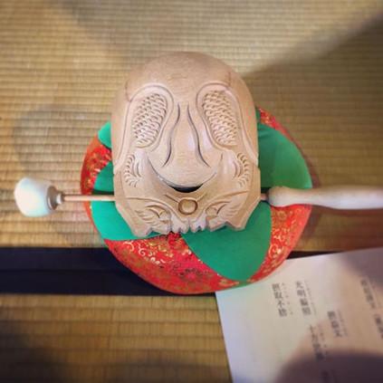 Buddhist Wooden Drum
