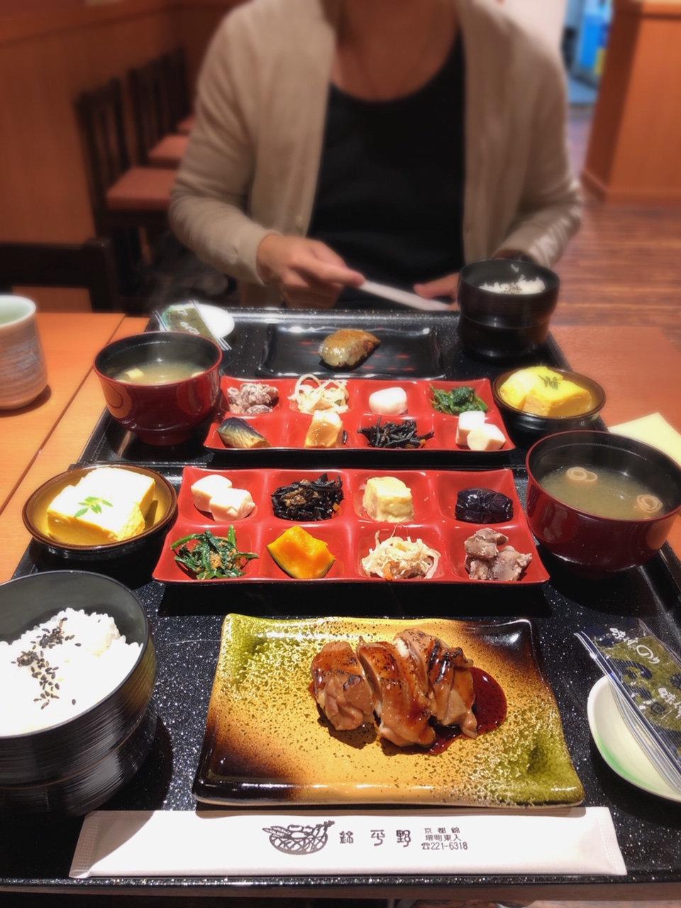 Japanese Breakfast in Nishiki Market