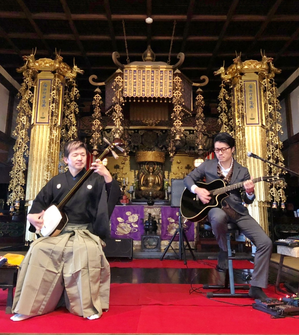 Temple Concert & Buddhist Experience