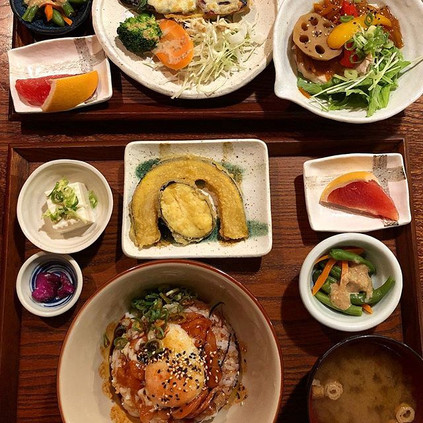 Kyoto's cafe lunch