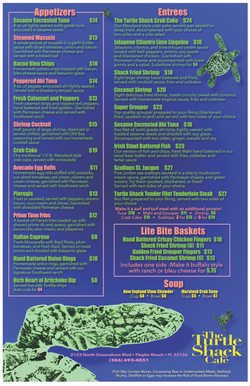 Turtle Shack Day Menu side A corrected
