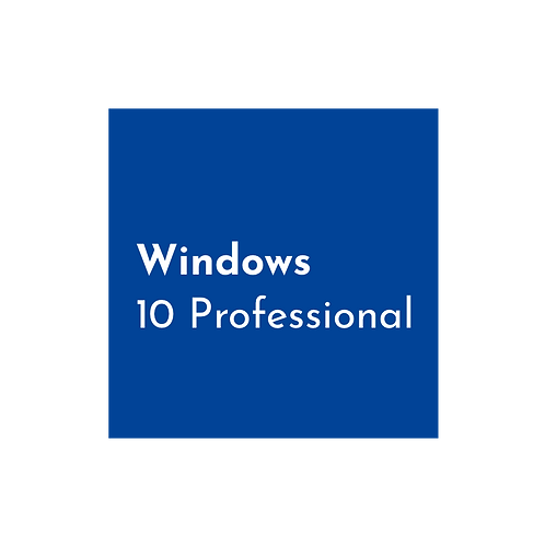 Windows 10 Professional Sealed Including COA Sticker