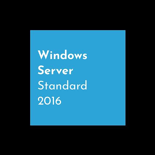 Microsoft Server 2016 Standard - Physical Copy with COA Sticker