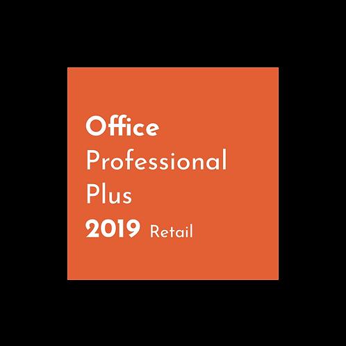 Microsoft Office 2019 Professional Retail - Digital Key