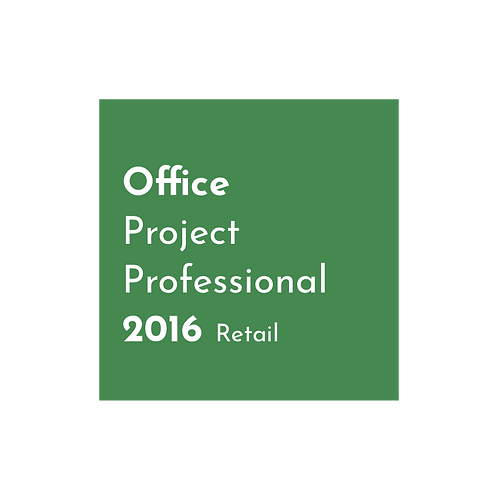 Microsoft Project 2019 Professional - Retail Key