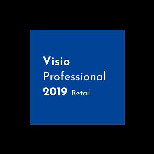 Microsoft Visio 2019 Professional - Retail Key