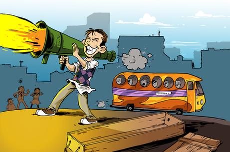 The Naughty List - Franklin's bazooka