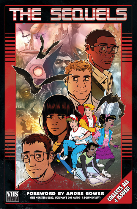 The Sequels TPB Cover