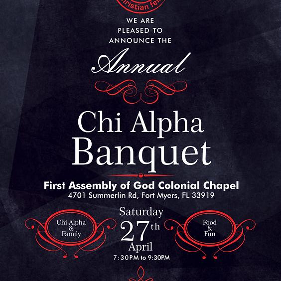 Chi Alpha Banquet 2019