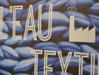 """""""L'eau textile"""" à la Manufacture des Flandres"""