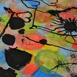 réalisation d'après le peintre Paul Klee