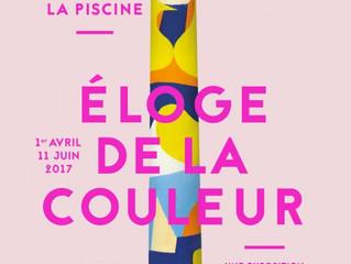 """""""Eloge de la couleur"""" à la Piscine de Roubaix"""