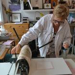 atelier gravure à Croix atelier d'Akané