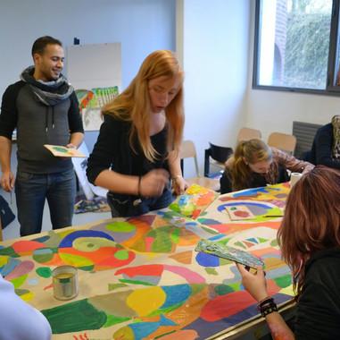 Formation d'éléves éducateurs ITRS Valenciennes (Nord)