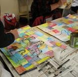 travail collectif autour du peintre Paul Klee
