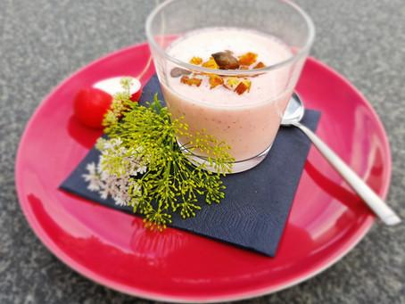 Radieschen-Joghurtsüppchen