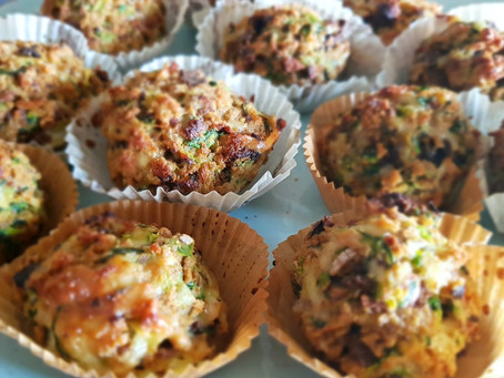 Zucchini-Brot-Küchlein - ein Rezept gegen Foodwaste
