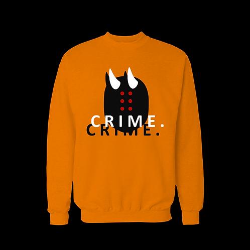 CRIME. sweatshirt