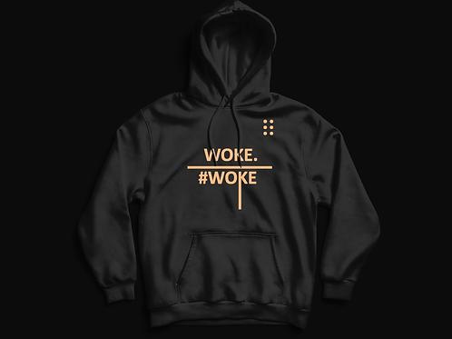 WOKE. vs #woke hoodie