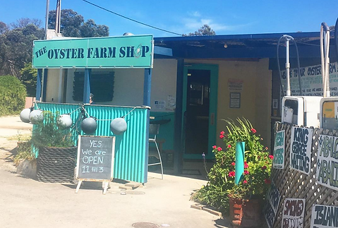 The Oyster Farm Shop farmgate for Kangaroo Island Shellfish