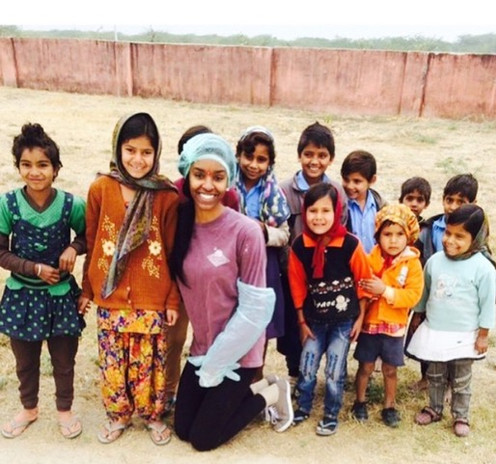 India Trip! Spreading the love of Living for One