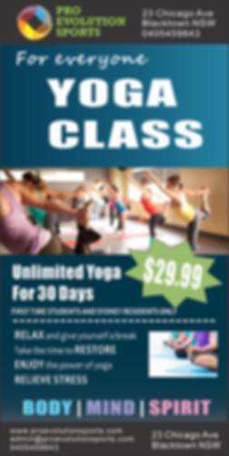 Pro Evolution Yoga Class