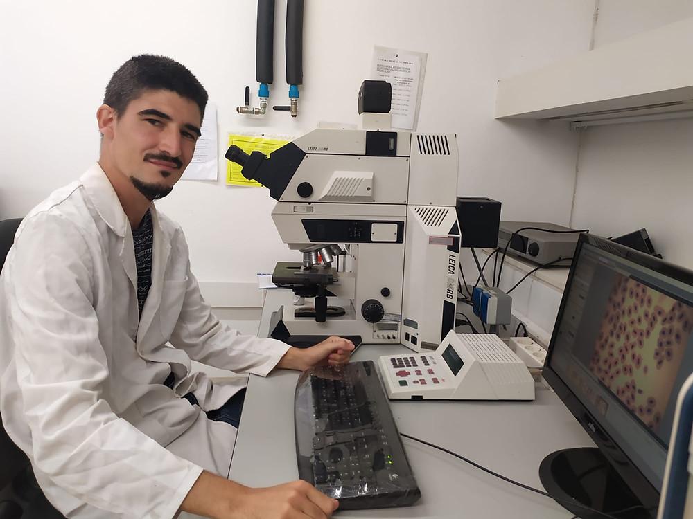 Microscopía Universidad de Murcia.