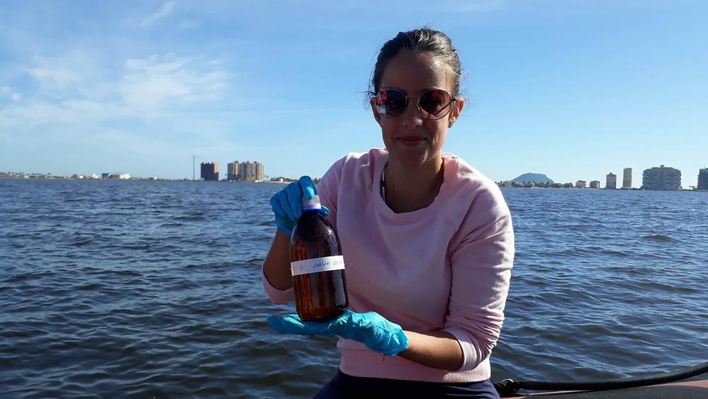 Investigación de mircoplásticos en San Pedro del Pinatar