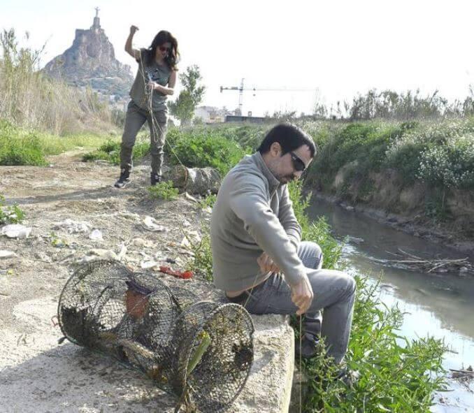 Trabajo parte del Proyecto Anguila, cerca de Monteagudo.