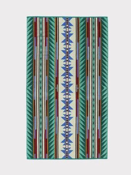 Turquoise Ridge Towel