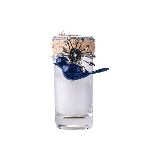 Vela Candle w/ Blue Bird