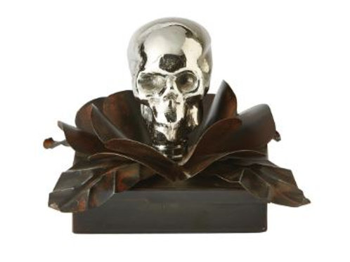 Nickel Skull Box