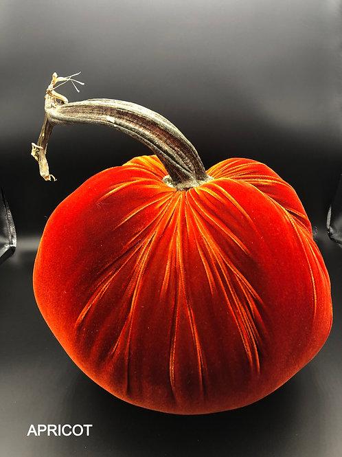 Jumbo Velvet Pumpkin