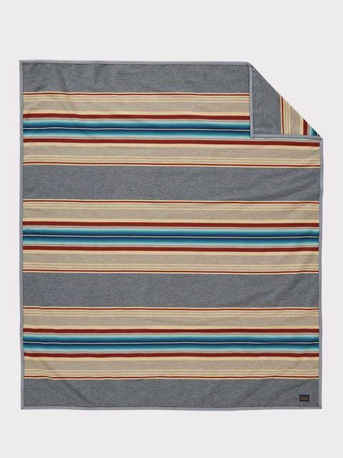 Serape Grey Blanket