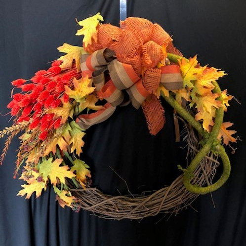 Custom Fall Wreath