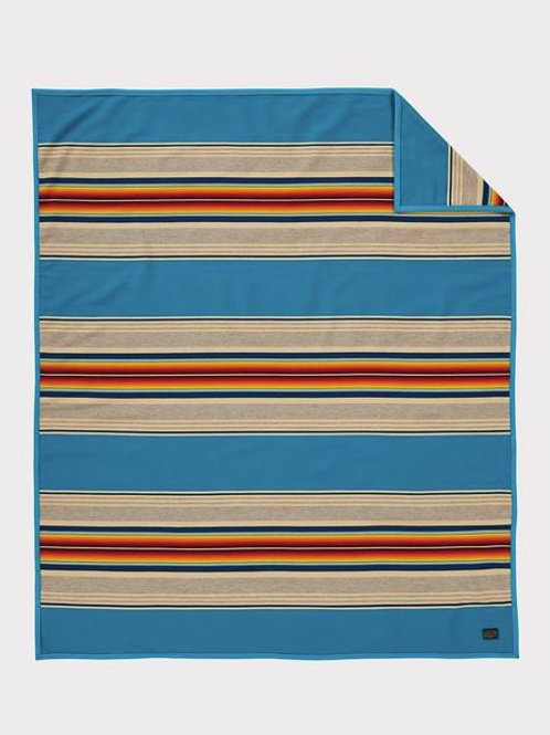 Turquoise Serape Blanket