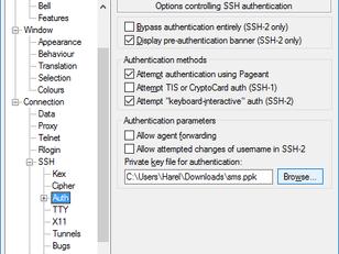 חיבור אוטומטי עם מפתחות ssh