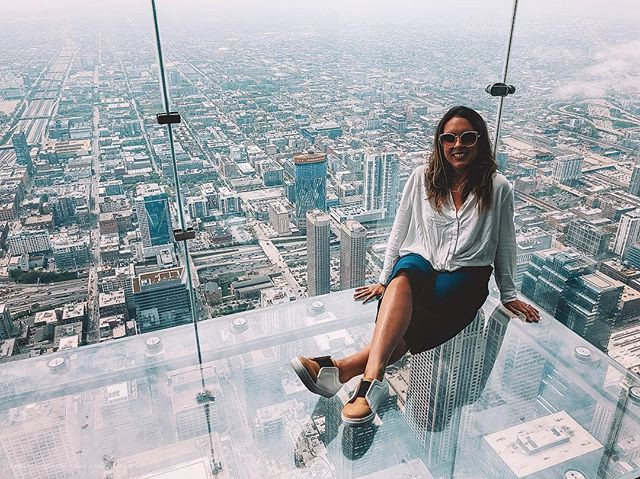 Skydeck Chicago - Willis Tower (ou Sears Towers)