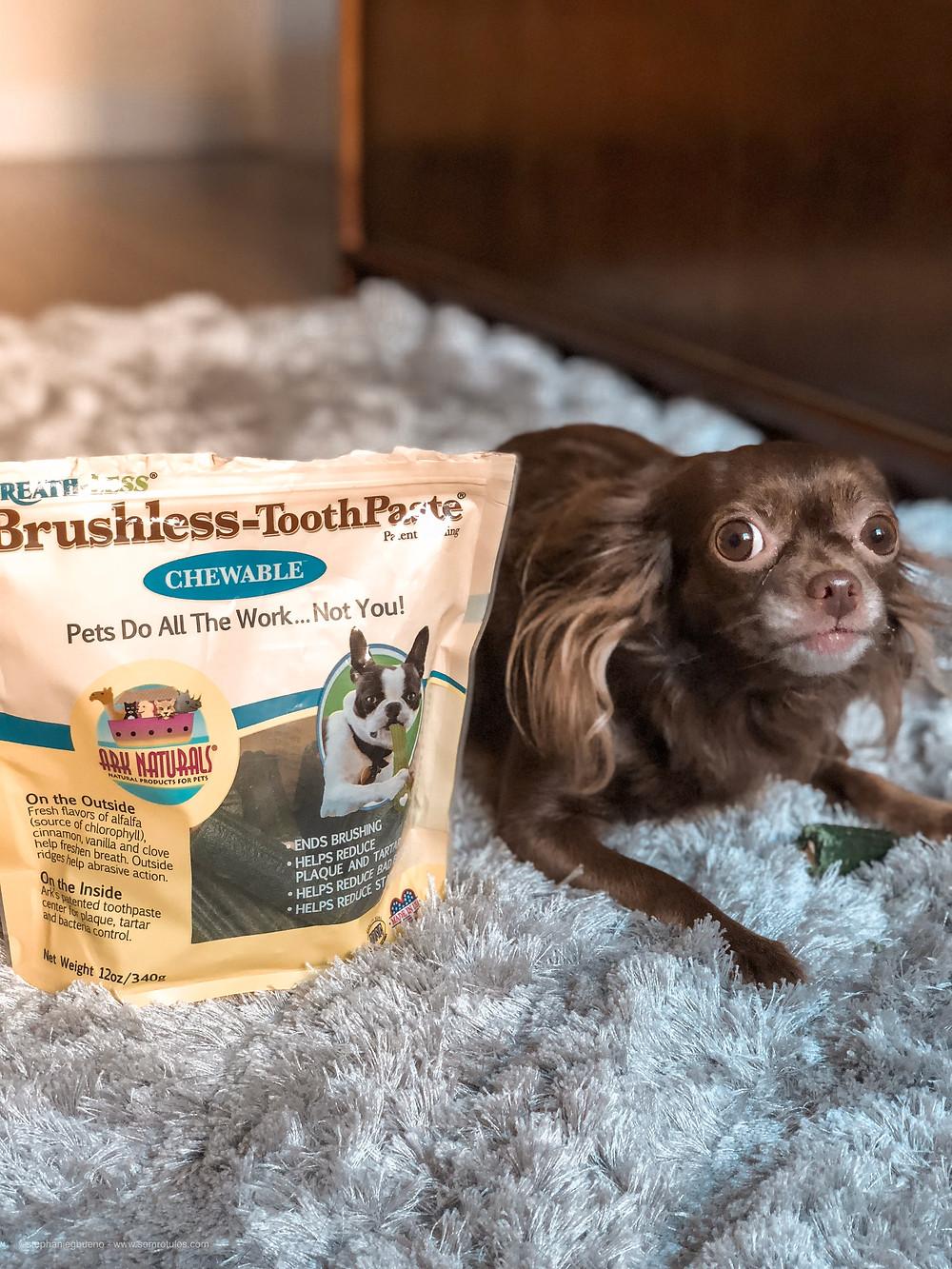 Breath-less Brushless-ToothPaste da Ark Naturals