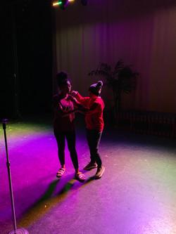 Akeelah Rehearsals
