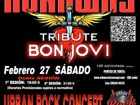 ★ RUNAWAY: BON JOVI TRIBUTE - Urban Rock Concept - Vitoria ★